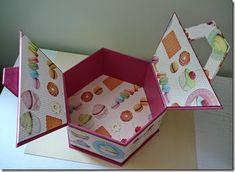 Boite hexagonale macarons 17-Michèle Gu