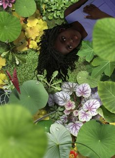 The weird and wonderful Worlds of Ruud Van Empel African American Art, African Art, Montage Photo, Black Artwork, Afro Art, Dutch Artists, Jolie Photo, Weird And Wonderful, Figurative Art