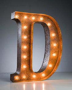 D is for Donna in lights!