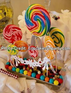 candy theme party supplies | Candy Themed Party