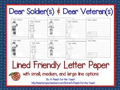 write letters to soldiers stuff on common cores non fiction and 25791
