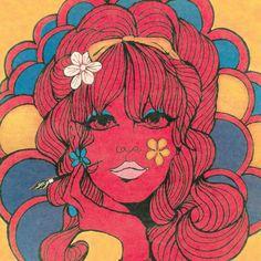 Resultado de imagem para 60's art