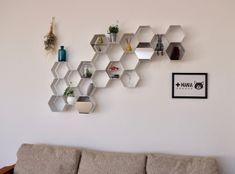 部屋の壁がお洒落な収納スペースに早変わりする『ミツバチLuck』|@DIME アットダイム