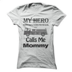 Firefighter mom - light color shirt - #cheap t shirts #funny graphic tees. CHECK PRICE => https://www.sunfrog.com/LifeStyle/Fireman-mom--light-color-shirt-Ladies.html?60505