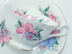 Royal Albert Vintage Fine Bone China Tea Cup by TheVintageFind1, $42.00