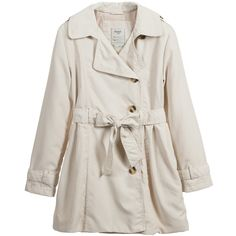 Girls Beige Trench Coat , Mayoral, Girl