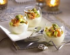 Avocado-Lachs-Vorspeise