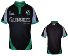 Our Guinness Rugby Ireland Performance Rugby Shirt is made form multi-stretch polyester fabric with breathable and moisture management properties. Front and back design. Sizes M, L, XL, XXL, XXXL.