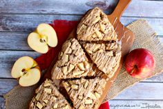 Apple Cinnamon Oatmeal Scones