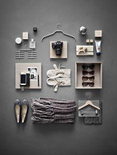 mood board objet colors gris