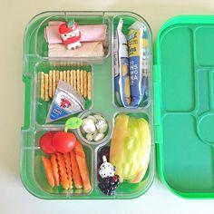 first kinder lunch  #holdme