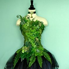 Fairy Costume Corset Woodland Fairy Costume Top by FairyNanaLand, $175.00