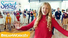 """Lyza Bull & One Voice Children's Choir perform """"Christmas Wish"""" from DreamWorks Animation's Spirit Riding Free! For more holiday fun, catch Spirit Riding Fre. Why Christmas, Christmas Wishes, Girl Pranks, Dreamworks Animation, Working With Children, Choir, Holiday Fun, The Voice, Spirit"""