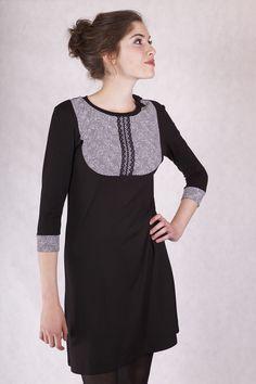 Blusenkleid mit Schleife. Ein Kleid für alle Fälle   als Businesskleid  als festliches Kleid  als Freizeitkleid  *****Stil: mädchenhaft, verspielt, romantisch ,casual , street, Freizeit,...