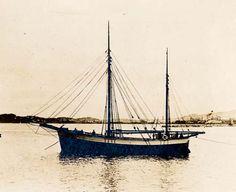 """Dyrafjeld"", ex-""Anna-Christina"" som galeas en gang etter 1918"
