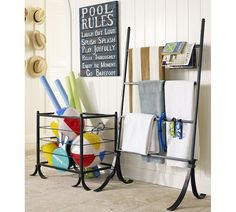 Outdoor Toy Storage. Hang Buckets Up On The Fence To Store Toys On Your  Preschool Playground. | Home Organization | Pinterest | Outdoor Toy Storage,  ...