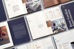 Brand identity for residential development Rose Garden by Studio South.