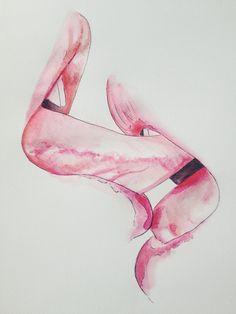 #watercolor #speedsketch #kiss