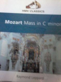Raymond Leppard-Mozart Mass In C Minor CD #Mass