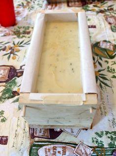 More Soaping: Lavender Goat Milk Soap Update - Bloom, Bake & CreateBloom… Soap Making Recipes, Homemade Soap Recipes, Goat Milk Recipes, Glycerin Soap, Castile Soap, Soap Display, Lavender Soap, Goat Milk Soap, Cold Process Soap