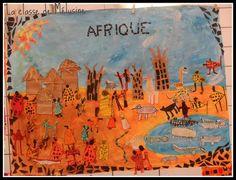 Fresque d'Afrique - Projet RAFARA                              …