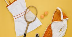 Here's how to rework a retro frock into a modern tennis dress.