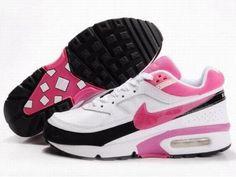 Womens Nike Air Max Bw Black Pink White For Sale [shoes - Nike Shoes Cheap, Nike Free Shoes, Cheap Nike, Adidas Women, Nike Men, Air Max Sneakers, Sneakers Nike, Nike Free Runners, Asos