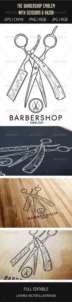 VECTOR DOWNLOAD (.ai, .psd) :: https://sourcecodes.pro/article-itmid-1007087138i.html ... Barbershop Emblem ...  barber, barbershop, beard, black, classic, gentleman, haircut, men, moustache, retro, special, symbol, vector, vintage, white  ... Vectors Graphics Design Illustration Isolated Vector Templates Textures Stock Business Realistic eCommerce Wordpress Infographics Element Print Webdesign ... DOWNLOAD :: https://sourcecodes.pro/article-itmid-1007087138i.html