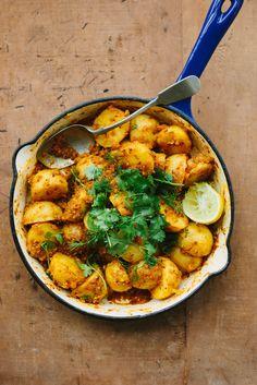 Curried Potatoes | #glutenfree #grainfree #dairyfree