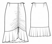 Lekala Sewing Patterns - WOMEN Skirts Sewing Patterns Made to Measure and Royalty Free
