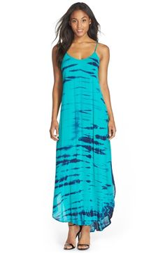Fraiche+by+J+Tie+Dye+A-Line+Maxi+Dress+available+at+#Nordstrom