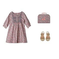 Liberty print dress - Bonpoint. I would wear this if a Londoner invited me to go shopping. As far as I know, I know no Londoners.