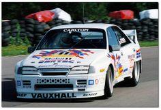 Pete Stevens Vauxhall Carlton Thundersaloon.Thundersaloons Mallory Park 1992