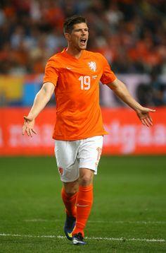 Klaas Jan Huntelaar of Holland