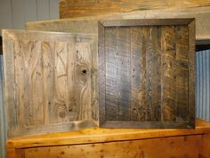 Reclaimed Wood Paneling, Armoire, Retail, Furniture, Home Decor, Clothes Stand, Homemade Home Decor, Closet, Shops