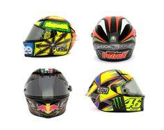 AGV Pista GP Helmets in MotoGP 2013