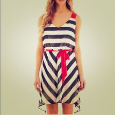2381f8cb590 Bisou Bisou® Striped High-Low Dress - jcpenney I want this dress so bad!