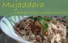 Blog post at Lydia's Flexitarian Kitchen : Edit a year after original publication: I've updated the photos and added a few comments to the text. I've made mujaddara several times sinc[..]