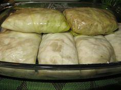 Domowe ciasta i obiady: Gołąbki mięsne z kaszą gryczaną i sosem grzybowym Dairy, Bread, Cheese, Brot, Baking, Breads, Buns