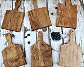 Mini French Bread Boards - Set of 6