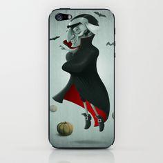 Vampire iPhone & iPod Skin by Jordygraph - $15.00