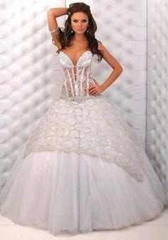 Vestido de noiva, sexy.
