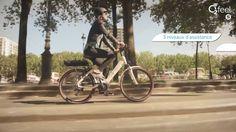 O2Feel présente son vélo électrique Swan équipé de la technologie Shimano Steps #O2Feel #eBike #VeloElectrique #Swan