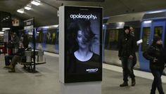 Outdoor Interactive Ads Make You Look Up - wayvs