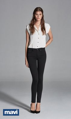 A perfect-fitting black jean is an indispensible staple that belongs in everyone's wardrobe. Our ultra-flattering ALISSA is the perfect black jean that's versatile, form-fitting and super comfortable and makes a statement in any outfit. Explore our entire collection of women's premium denim.