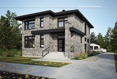 Evolution Architecture, maison contemporaine, création exclusive E-894