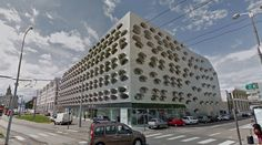 submitted by drf  Offices - #architecture #googlestreetview #googlemaps #googlestreet #france #nancy #brutalism #modernism