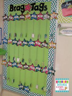 Celebrating Students with Printable Brag Tags {Freebie Alert!}