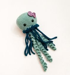 Your place to buy and sell all things handmade Toddler Gifts, Gifts For Kids, Handmade Baby Items, Handmade Gifts, Crocheted Jellyfish, Fabric Gifts, Amigurumi Toys, Beautiful Crochet, Inspirational Gifts
