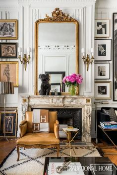 Beautiful Interior Design, Beautiful Interiors, Beautiful Bedrooms, Cheap Home Decor, Diy Home Decor, Art Decor, Deco Studio, Diy Casa, Fireplace Mirror